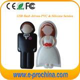 Azionamento promozionale dell'istantaneo del USB dei regali di cerimonia nuziale