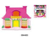 Casa nova do estilo do presente da promoção brinquedos plásticos da mini (084486)