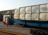 SMC FRP GRPの地上の長方形の水漕の容器25000リットル