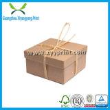 Vente en gros de empaquetage ondulée faite sur commande de boîte-cadeau de carton de papier