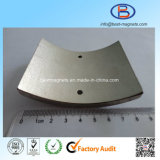 Фабрика ISO магнитов неодимия формы дуги для генератора