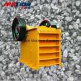 Trituradora de quijada calificada el PE, trituradora de piedra