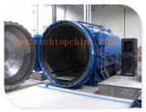 2850X6000mm China CER anerkannte elektrische Heizungs-lamellierender Glasautoklav (