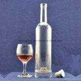 Ясная круглая бутылка вина льда бутылки вискиа стеклянной бутылки 500ml стеклянная