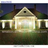 マジック移動屋外LEDによって写し出される景色の装飾の庭のクリスマスのレーザー光線