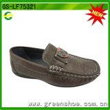 Ботинки новой конструкции плоские вскользь для детей (GS-LF75321)