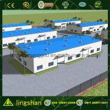 Entrepôt de mémoire préfabriqué de galvanisation de structure métallique (LS-SS-092)
