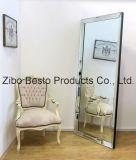 Espejos enmarcados madera decorativa grande de la pared