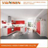 A cozinha pequena da venda direta da fábrica projeta o gabinete de cozinha da laca