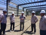 Panel isolado Steel Structure Building para Industrial Application