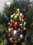 Albero di Natale di Pre-Lit con gli ornamenti della decorazione (MY100.008.00)
