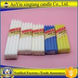 "Hight 8 "" White Bright Candle nel Ghana Cnadle"