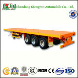 우수한 질 기계적인 현탁액 40FT 평상형 트레일러 트럭 트레일러