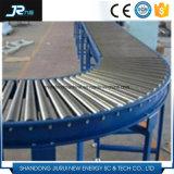 Transportador de rolo de gravidade motorizada galvanizado de aço carbono para sistemas logísticos