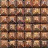 Rame di figura rotonda reso a mosaico usato parete (CFM1022)