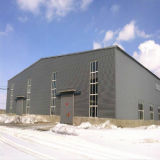 Taller de la estructura de acero para la instalación de producción
