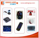 Inscription de laser de semi-conducteur/machine de gravure avec des clefs en plastique