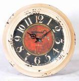 Популярное украшение дома часов стены металла старого типа круглое