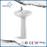 Dissipador cerâmico da mão da lavagem do suporte da bacia no banheiro (ACB2170)
