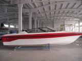 Barco da velocidade da fibra de vidro de Aqualand 25feet 7.6m/barco de passageiro/barco de patrulha (760)