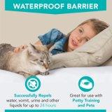 テリーの低刺激性の100対防水マットレスの保護装置