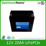 LEDライトのための深いサイクル12V 20ahのリチウム電池