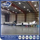 Le hangar d'avions de structure métallique/hangar d'avion/a préfabriqué le hangar