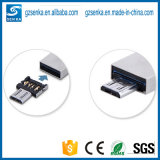 USB livre OTG Converter Adapter de Sample Mini para Andriod Smartphone