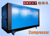Compresseur d'air rotatoire de vis de grand rendement d'utilisation d'usine de métallurgie