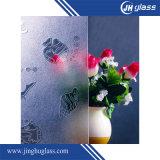vidrio claro/teñido de 3-10m m de modelo para el edificio