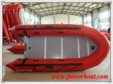 Aufblasbare Fischerboot mit Sperrholz Boden (FWS-A320)