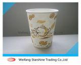 コーヒーカップおよびミルクのコップのためのPEの塗被紙