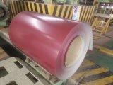 De kleur bedekte het Gegalvaniseerde Bouwmateriaal van de Staalplaat van de Rol PPGI van het Staal Met een laag