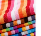 Полиэфир Colorful Stripe Терри Towel Cloth Fabric для Home