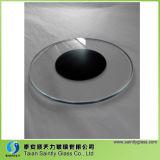 El mejor precio de 3 mm 4 mm Sombreado plano Ronda Lámpara de vidrio templado