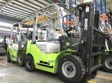 Diesel van de Motor van Japan 2t Vorkheftruck met Triplex Mast 4.5m Hoogte