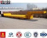 Hydraulischer abnehmbarer Gooseneck 60 Tonnen-niedriger Ladevorrichtungs-Schlussteil