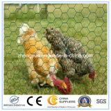ファブリック+金属+鶏小屋によって電流を通される金網