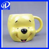 3D漫画の創造的な動物の陶磁器のマグのコーヒー・マグのティーカップのかわいいバースデー・プレゼント