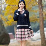 Suéter al por mayor del uniforme escolar de la alta calidad