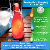 زجاجة زاويّة بلاستيكيّة زخرفيّة ضوء شمسيّة لأنّ قضيب
