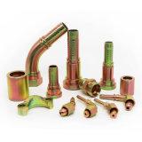 Conetor hidráulico do dobro do encaixe de mangueira do aço inoxidável do fabricante (90011.90012)