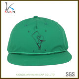 スクリーンによって印刷される緑のナイロン急な回復の帽子および帽子