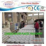Reciclado Máquina Folha de UPVC PVC Asa vitrificada de telhado