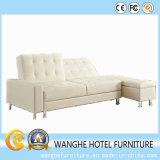Base di sofà domestica del cuoio genuino del salone della mobilia