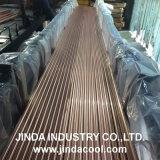 Tubulação de cobre reta do abastecimento de água da alta qualidade