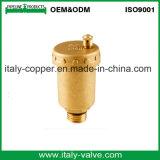 Le laiton personnalisé de qualité a modifié les robinets à tournant sphérique d'évent (IC-3015)
