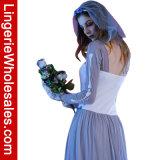 Costume di Cosplay della sposa del fantasma del partito di Halloween del vestito dalle zombie di cerimonia nuziale delle donne