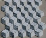 Mosaico, mosaico de mármol, mosaico del granito, mármol blanco, mármol