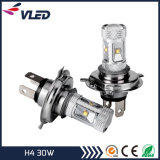 Indicatore luminoso di nebbia dell'automobile del LED H4 30W Canbus con alluminio
